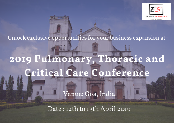 2019 Pulmonary, Thoracic and Critical Care Conference- Event