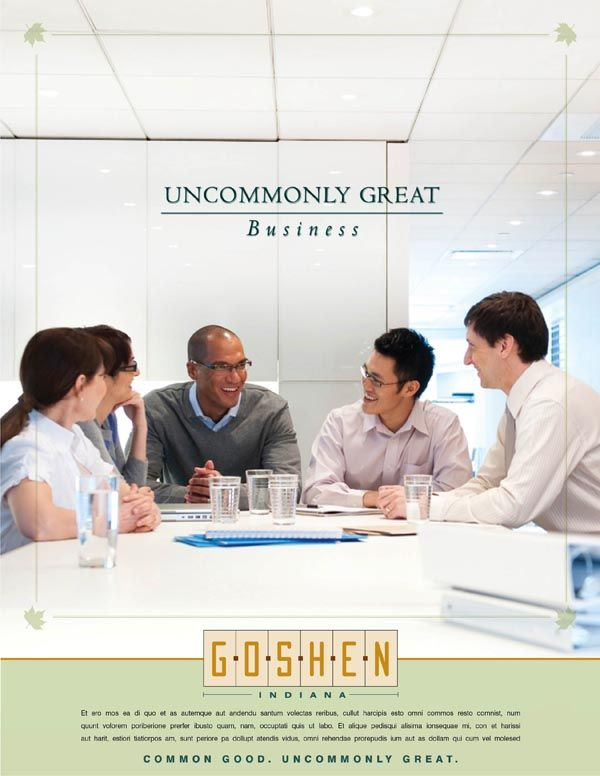 GOSHEN, uncommonly great