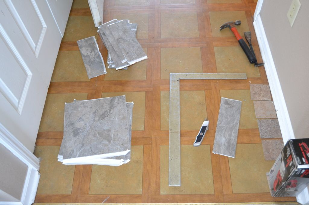 Howto Install PeelnStick Floor by Grace + Gumption