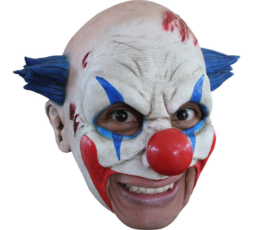 M scara chinless clown de l tex para halloween alta - Mascara de terror ...