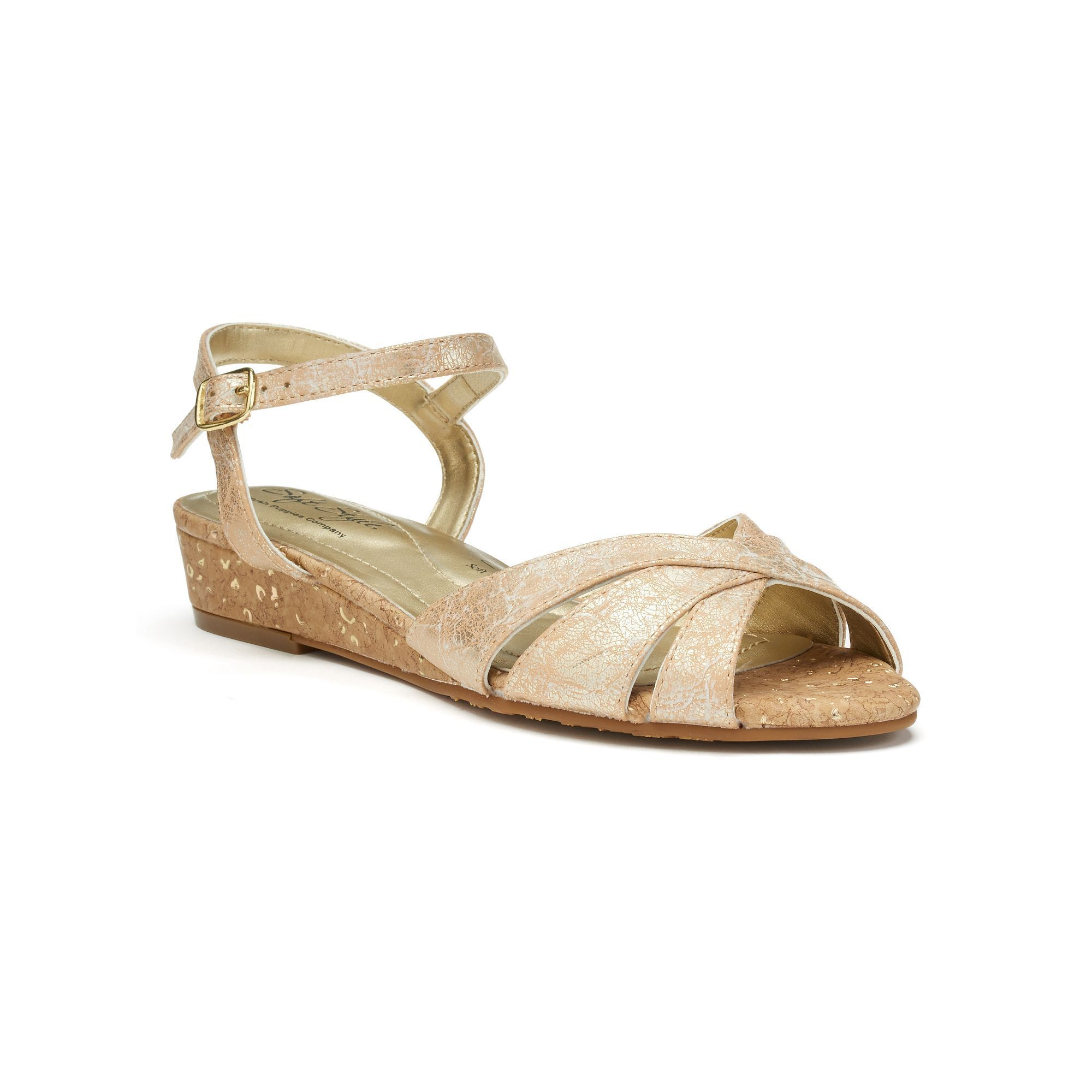 100% guaranteed for sale Soft Style by Hush Puppies ... Midnite Women's Wedge Sandals free shipping sast recommend sale online free shipping reliable 7JA2j