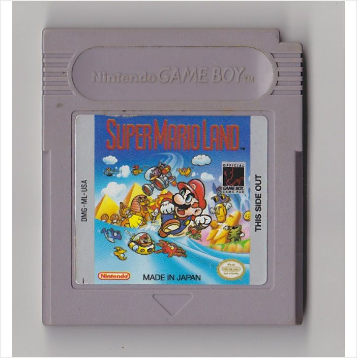 Super Mario Land Nintendo Game Boy Gb Used 045496730048 On Ebid United States Gameboy Super Mario Land Retro Pop
