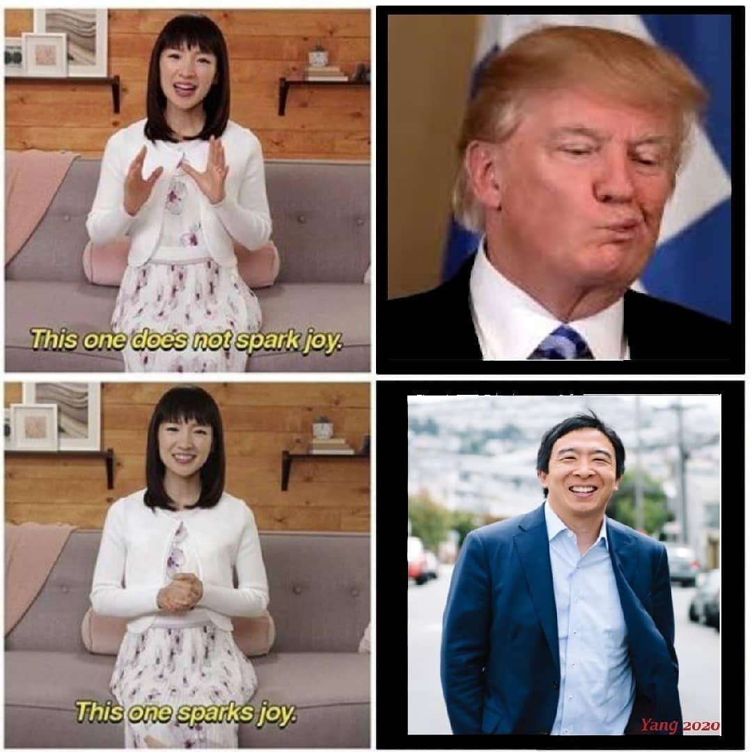 Yanggang Memes On Instagram Yanggang2020 Yang2020 Yanggang Freedomdividend Andrewyang Humanityfirst Ubi Joebiden Biden202 Sparks Joy Human Feminist
