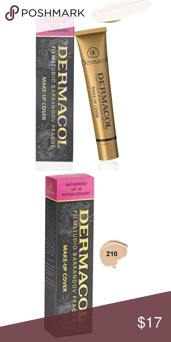 Dermacol MakeUp Cover Foundation 💗PRICE FIRM💗 💗NO TRADES