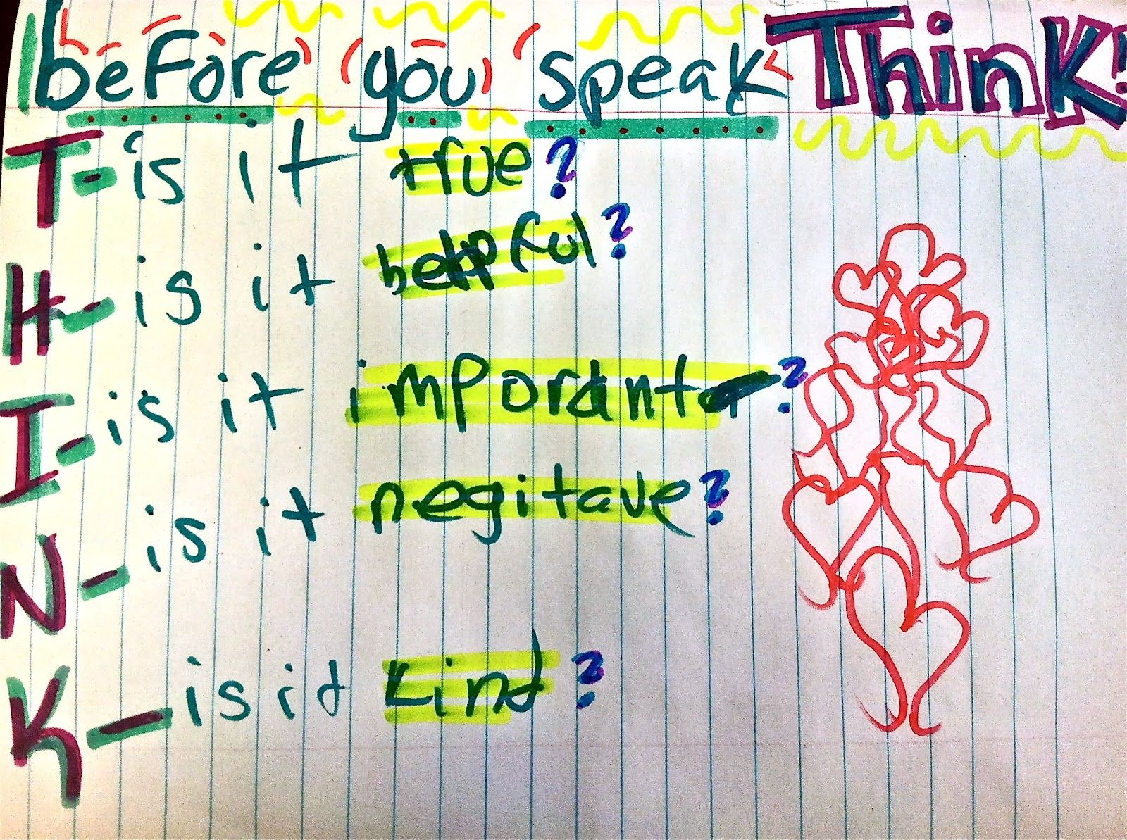 Behavioral Interventions For Kids Think Before You