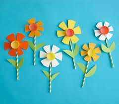 Image Result For How To Make Paper Flowers With Construction Paper