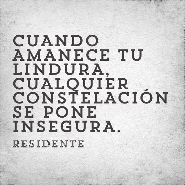 Quote Calle 13 Ojos color sol | Residente / Calle 13 | Pinterest ...