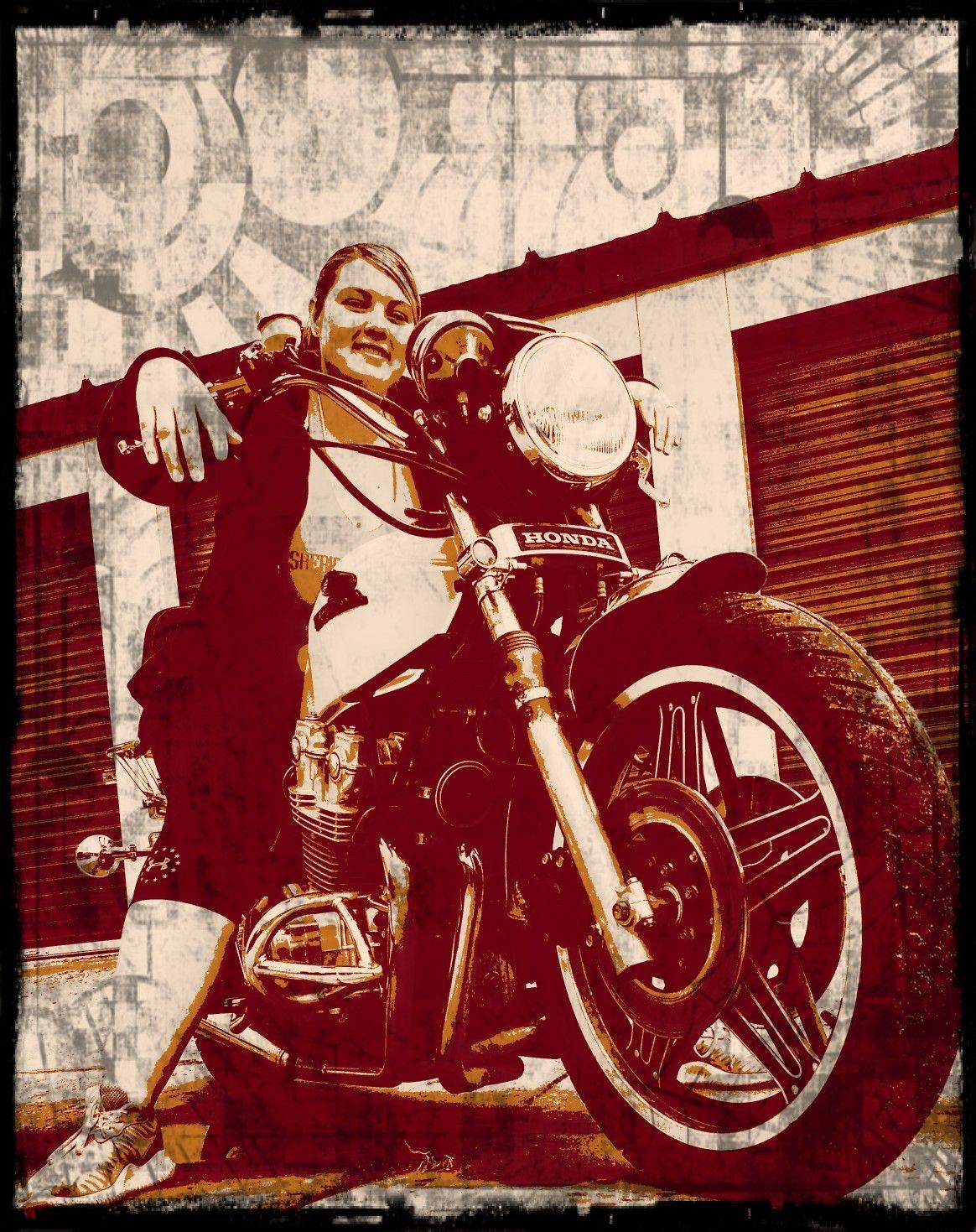1981 Honda Cb900c Motorcycle Honda Bike