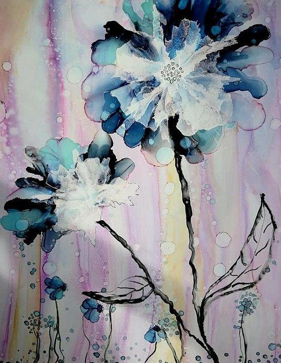 Giclee Flower Prints, 11x14 Art Print Botanical Wall Art Gift ...