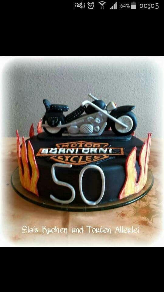Motorrad Torte Motorradkuchen Motorrad Torte Kuchen