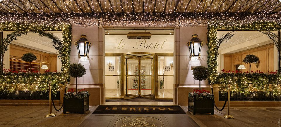 Le Bristol Paris Luxury 5 Star Hotel In France
