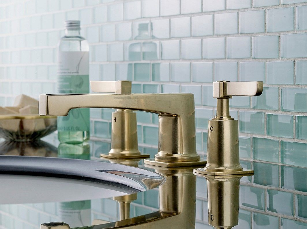 NYC Design Week in 20 Photos | Brass faucet, Faucet and Sinks