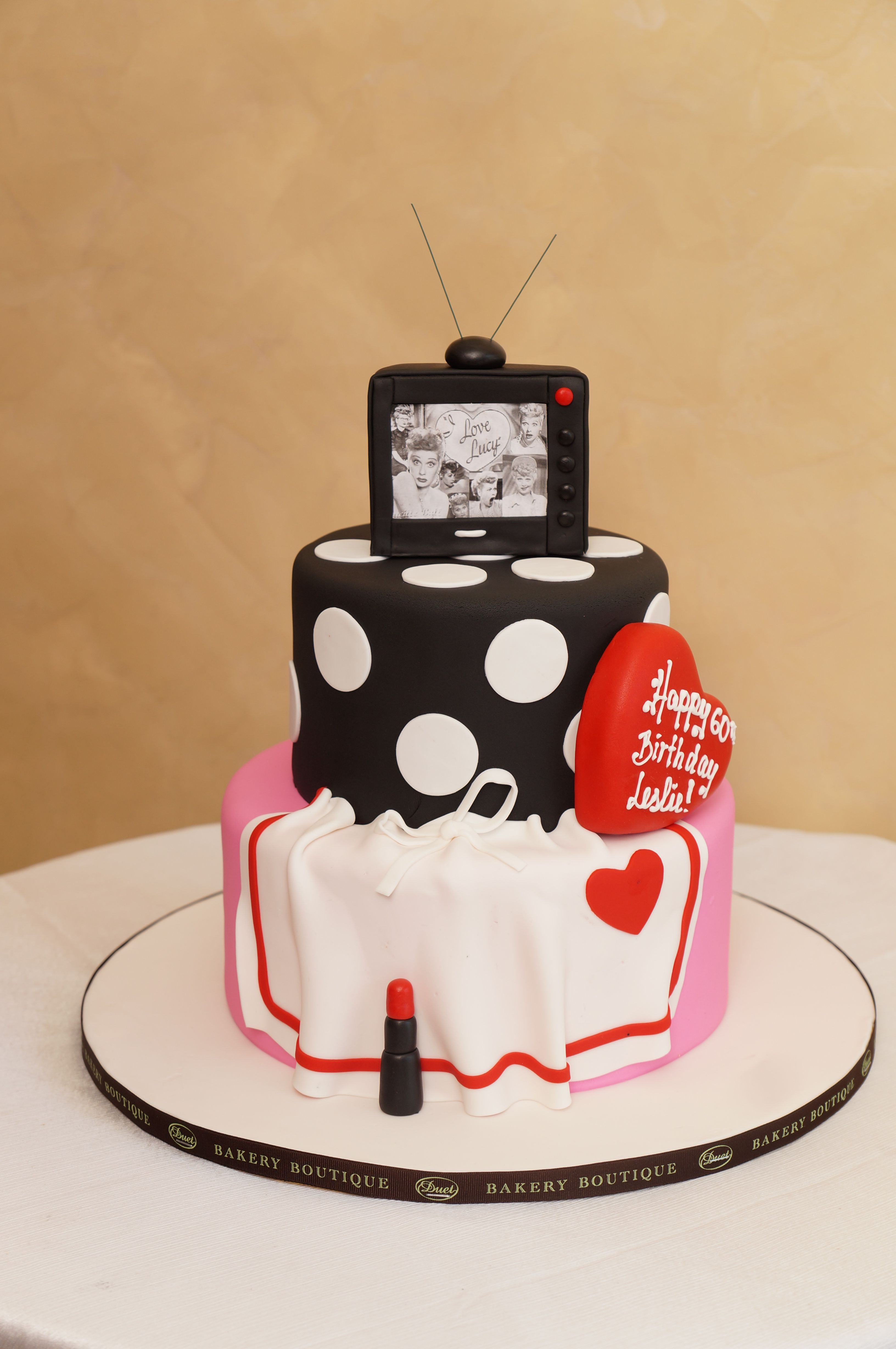 I Love Lucy Awesome Cake
