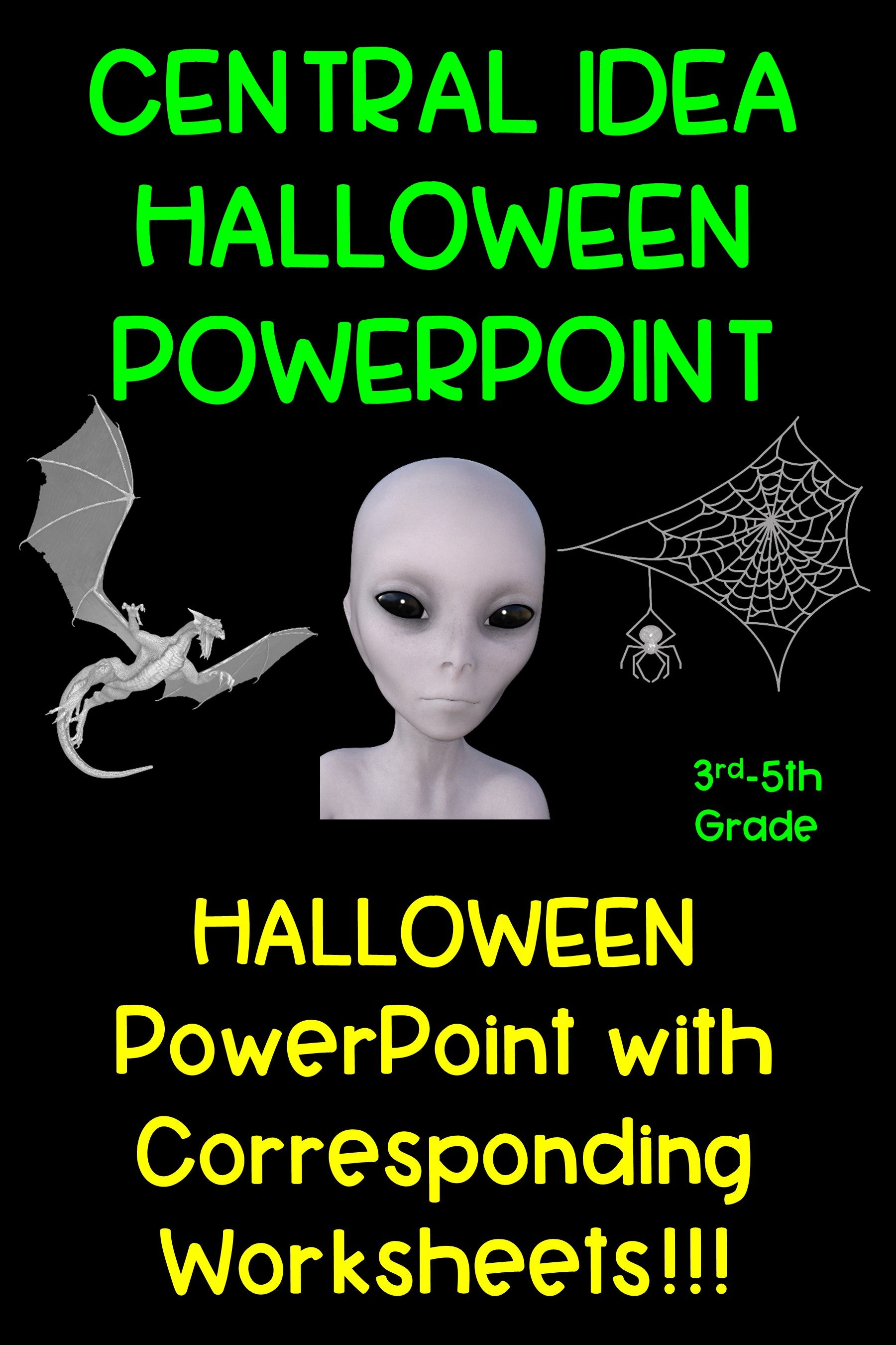 Central Idea Halloween Powerpoint
