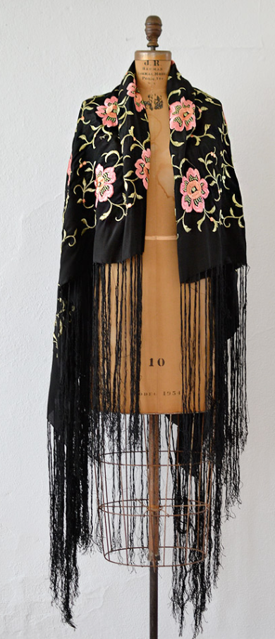 1920s Spanish Sonata Shawl by Adored Vintage | ADORED ...