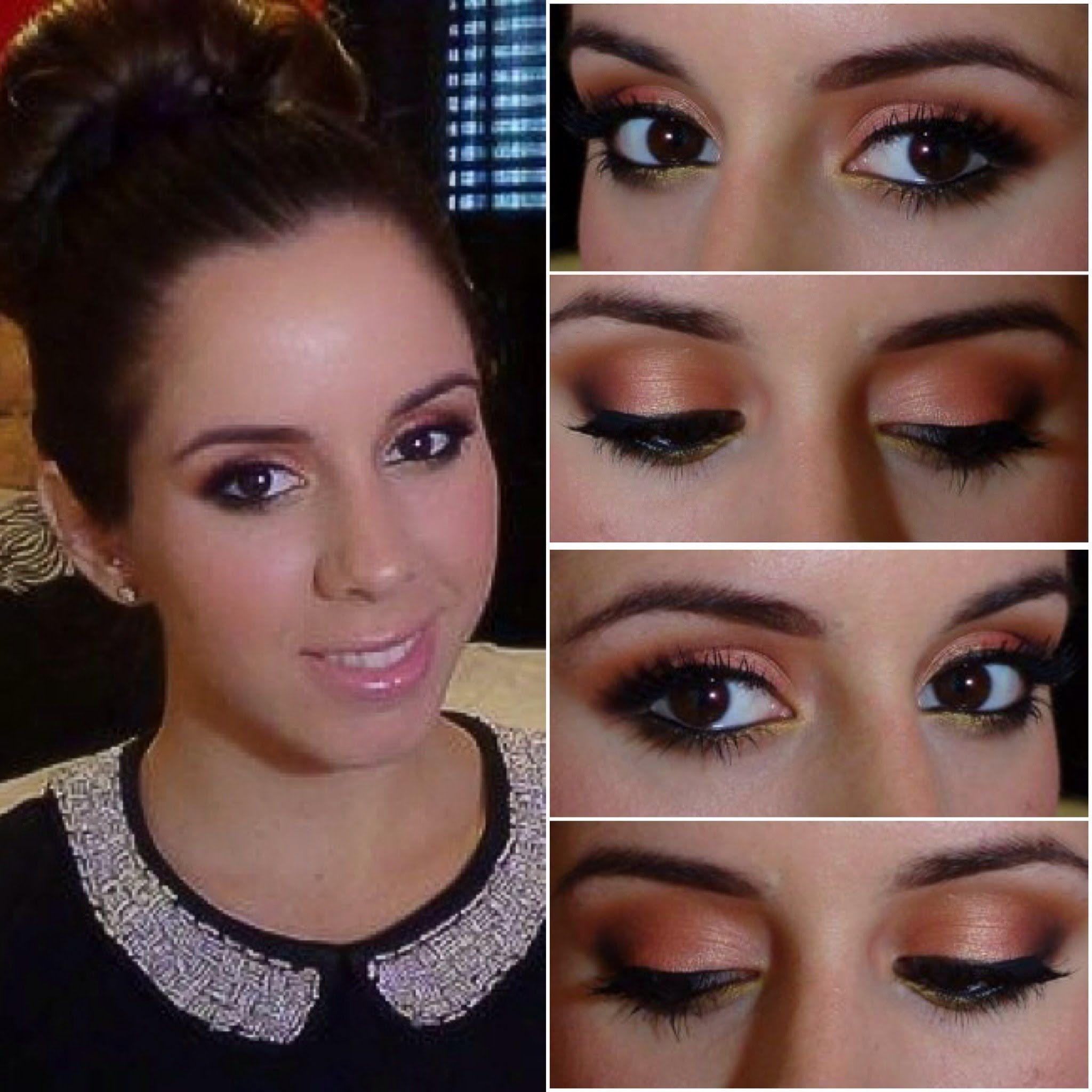makeup for black prom dress - Google Search | makeup♡ | Pinterest ...