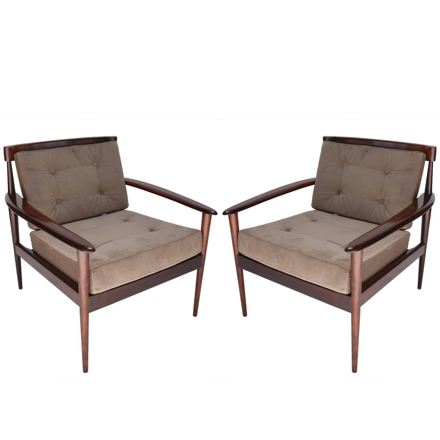 Pair Of Rino Levi Brazilian Jacaranda Armchairs | See More Antique And  Modern Armchairs At Https