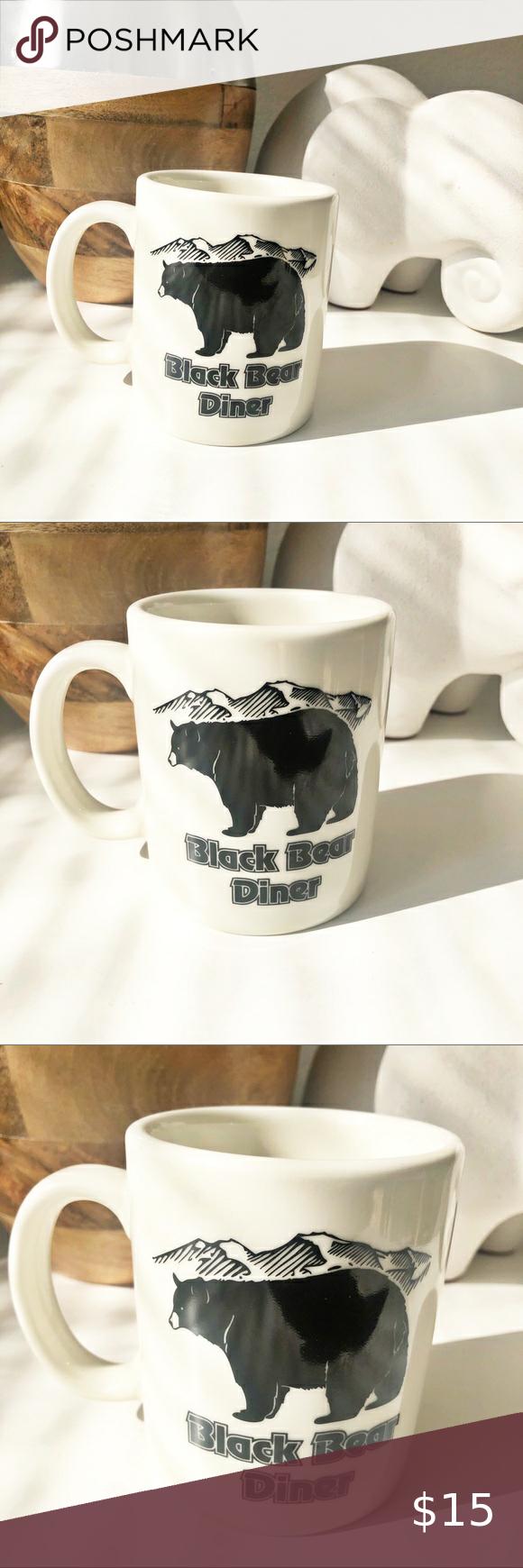 Black Bear Diner Mug Mugs Black Bear Diner