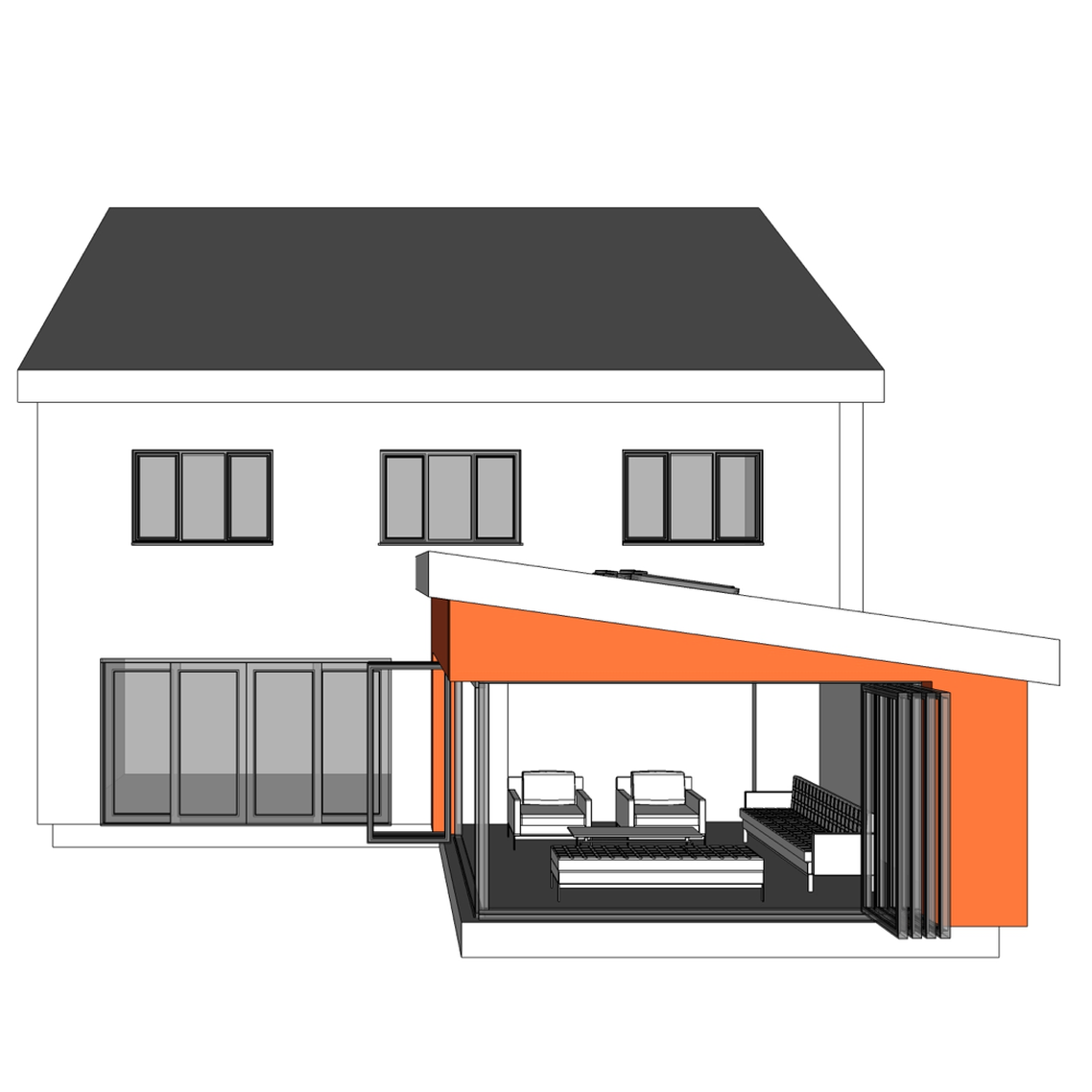 Ready Made Modern House Extension Nest A Beautiful And