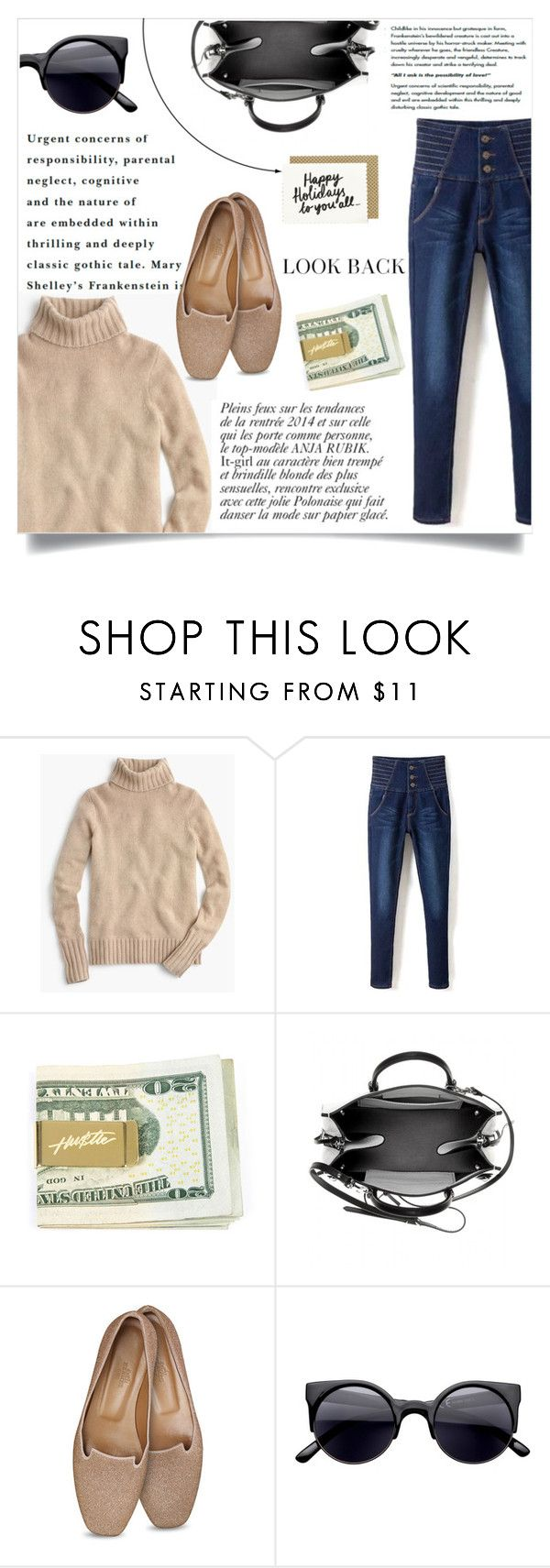 """""""A look back"""" by andreastoessel ❤ liked on Polyvore featuring J.Crew, Anja and Balenciaga"""