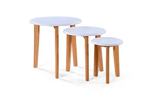 Awesome birlea felicity circular nest of tables beech white buy awesome birlea felicity circular nest of tables beech white buy this and much more watchthetrailerfo