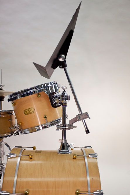 The Drummer Stand Keeps Your Sheet Music In Sight - DRUM