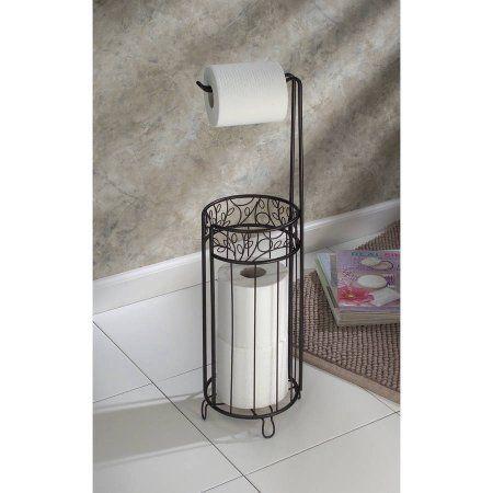 InterDesign Decorative Toilet Paper Holder Stand   Walmart.com