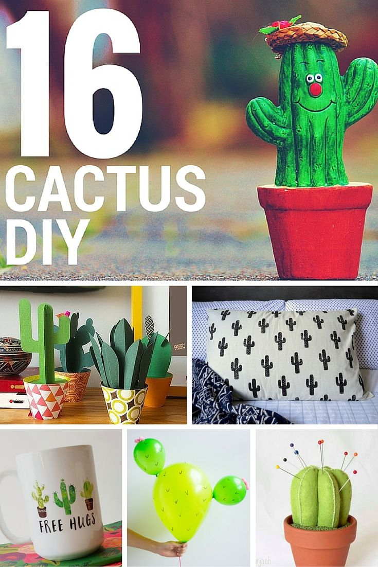 16 manualidades con cactus estos cactus no pinchan son for Cactus decoracion