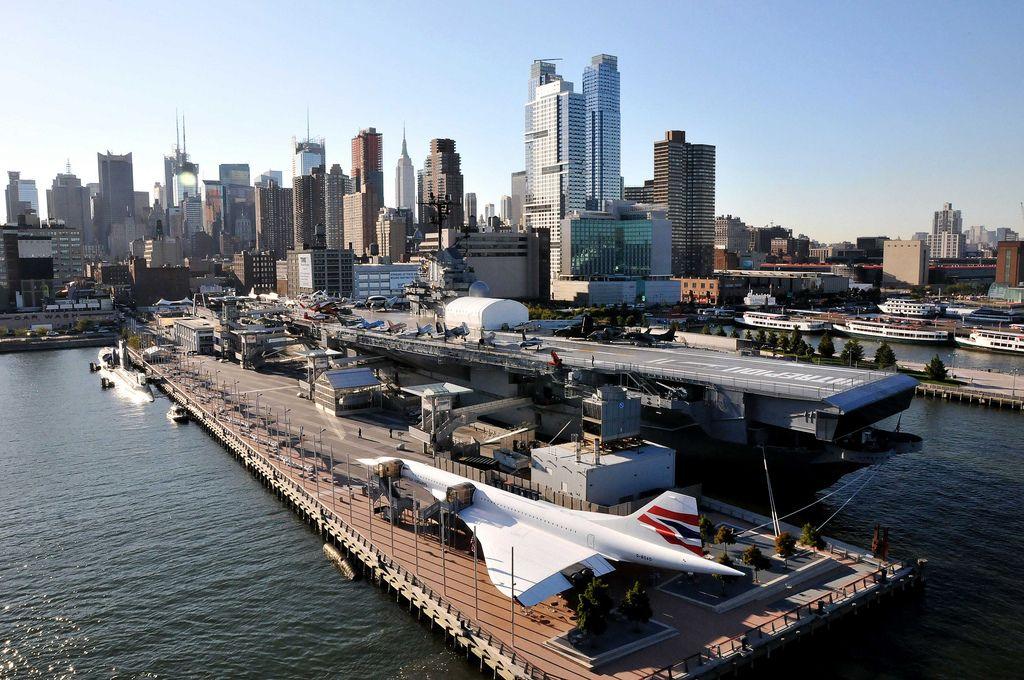 Visiter l'Intrepid Sea Air & Space Museum à NewYork