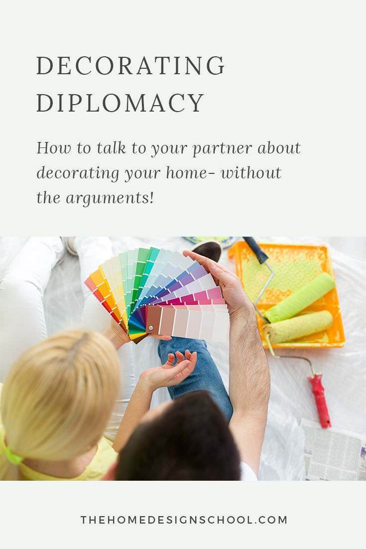 DECORATING DIPLOMACY: HOW TO TALK TO YOUR PARTNER ABOUT DECORATING YOUR HOME