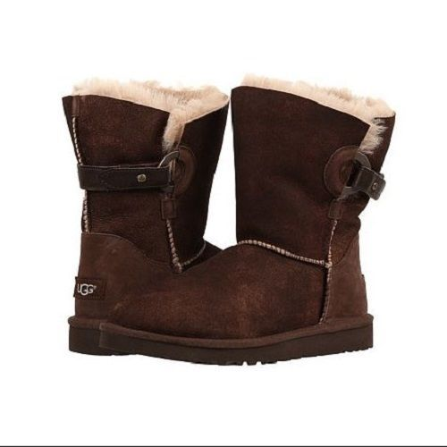 80a26bf8c0d NIB UGG Australia Women's Nash Boot in Chocolate Brown Suede 1013491 ...