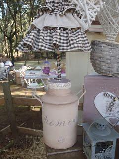 Il Gufo e la Luna shabby chic & country style: Le mie prime lampade
