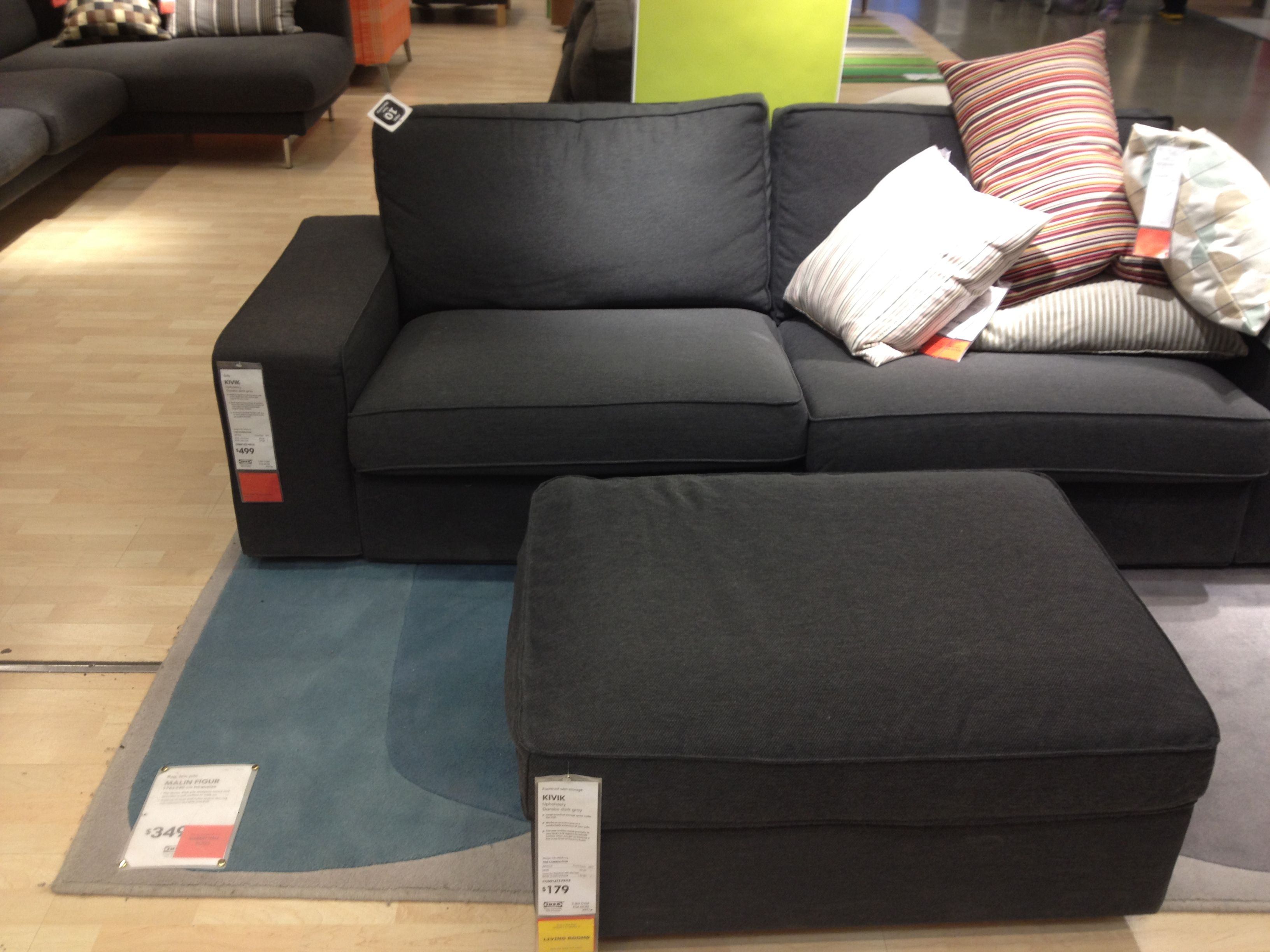 Bettsofa Kivik Dark Grey Kivik Sofa Deeper And More Comfortable Than Ektorp