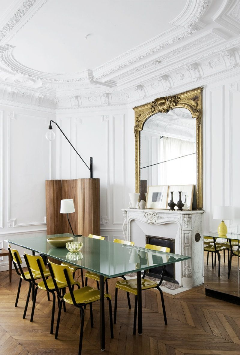 Eclectic Home Design in Paris by the Architect Luis Laplace ...