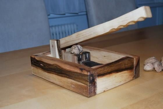this simple diy wooden tool easily outperforms the average metal nutcracker kitchen ideas. Black Bedroom Furniture Sets. Home Design Ideas