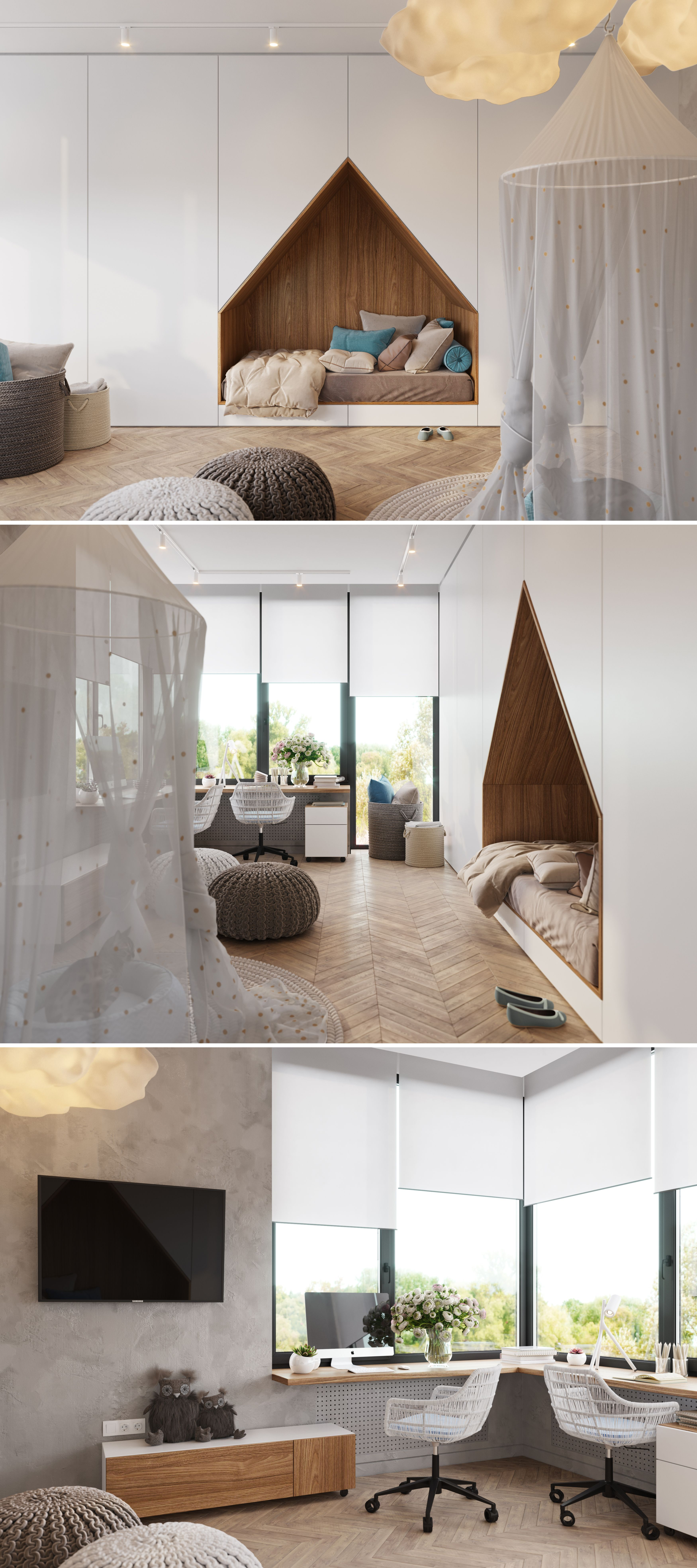 COZY KIDS ROOM ГаРерея 3ddd kids room