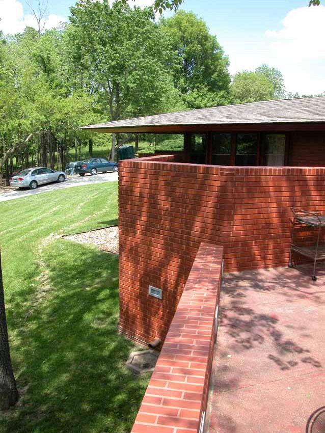 The Kraus House  Aka Flw U0026 39 S House In Ebsworth Park 1960