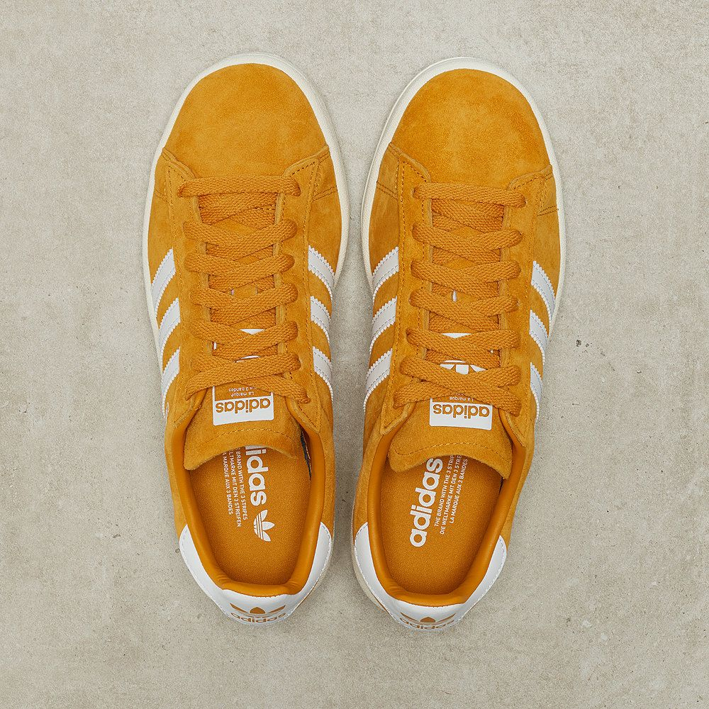 quality design 029d8 30a3b adidas Campus tactile yellow core white