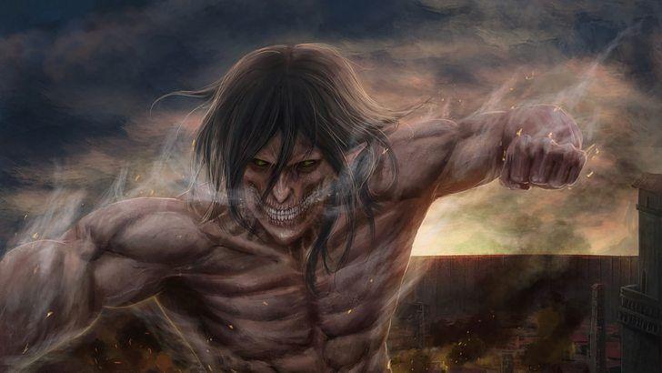 Eren Attack Titan Form Attack On Titan Wallpaper