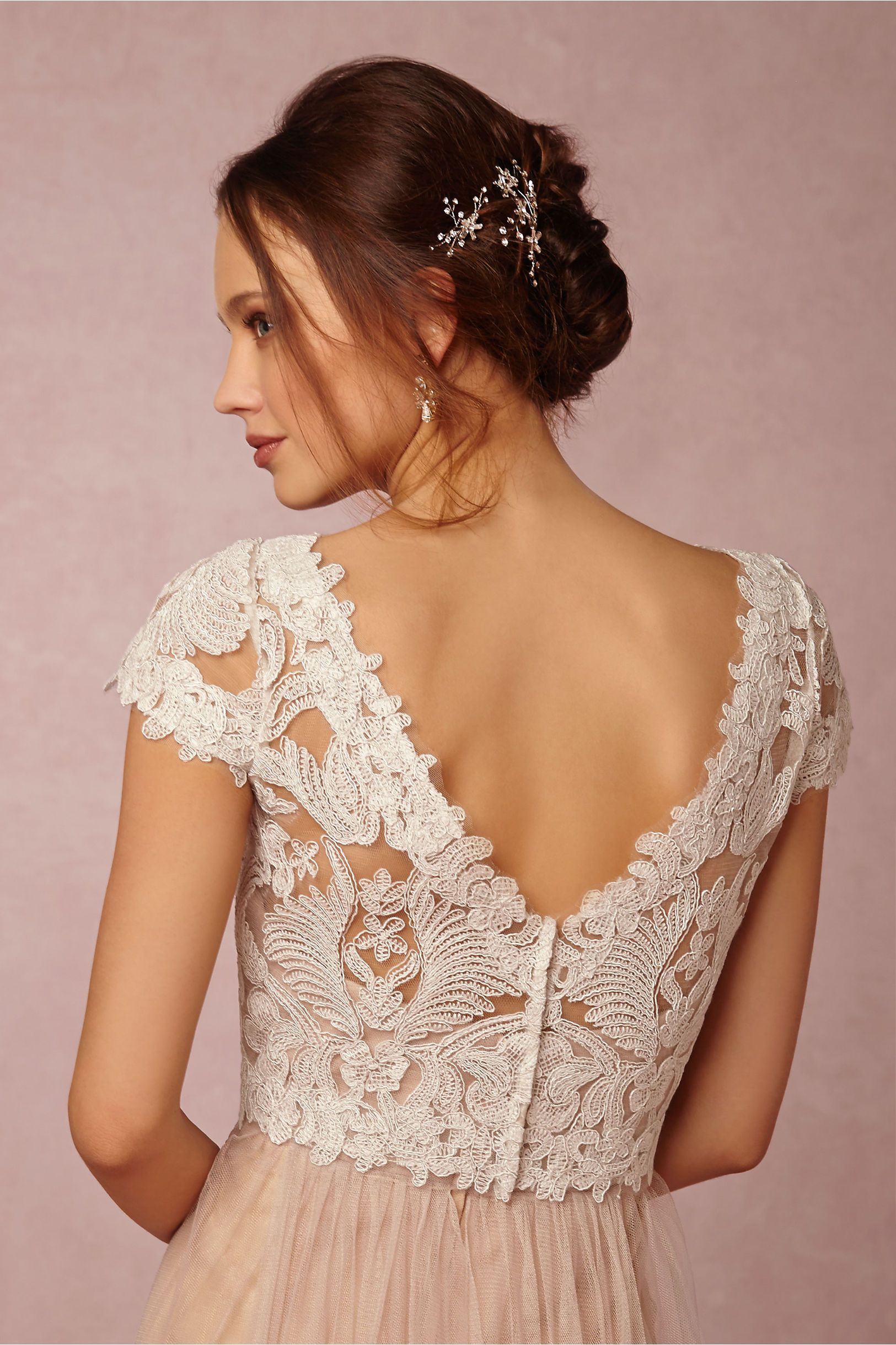 BHLDN\'s Tadashi Shoji Seville Topper in Ivory | Tulle gown, Gowns ...