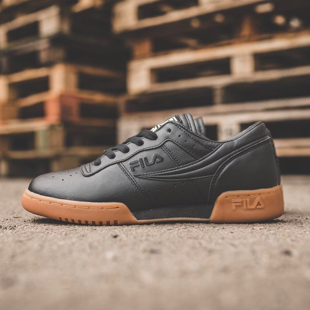 Fila Original Fitness: Black/Gum