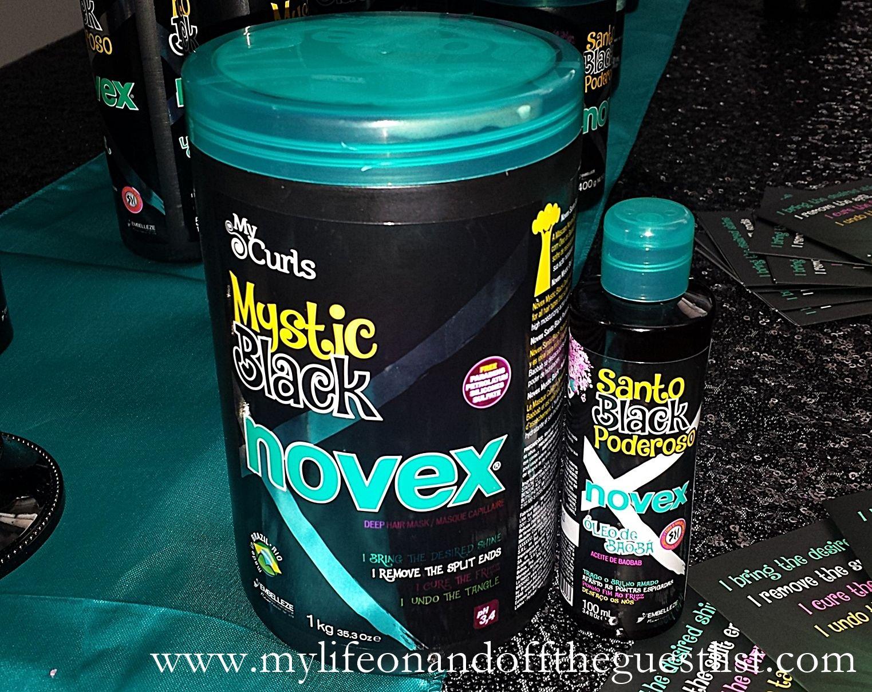 New Product Launch Novex Mystic Black Brazilian Hair Care