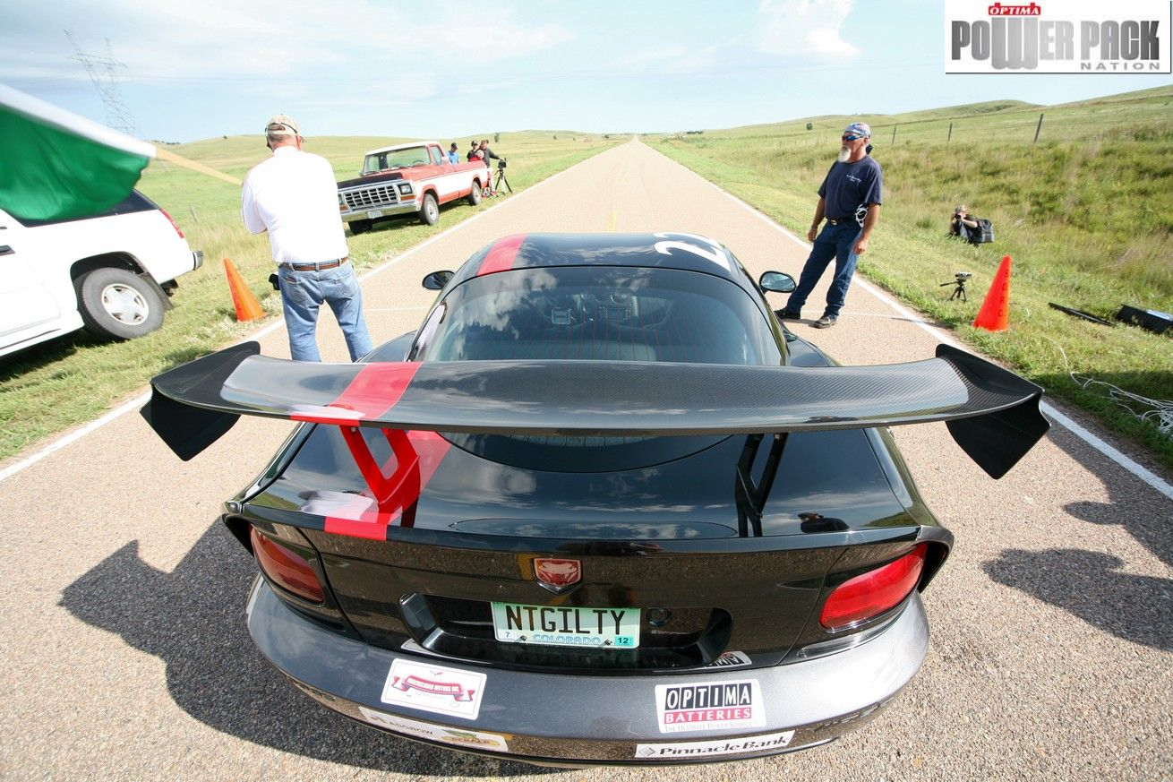 Dodge Viper ACR listo para quemar la pista...