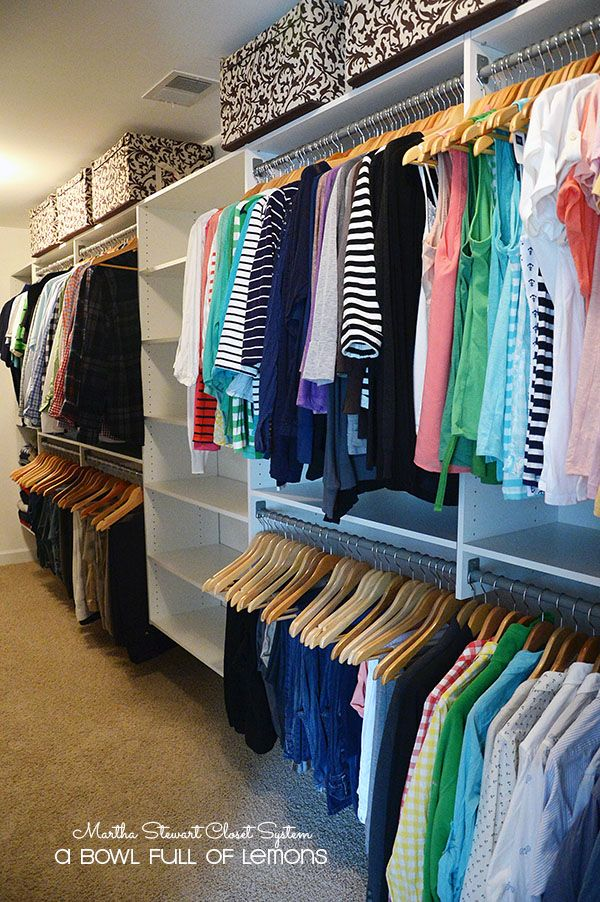 Create Your Prefect Closet Space No Matter How Big Or Small With The Martha  Stewart Closet