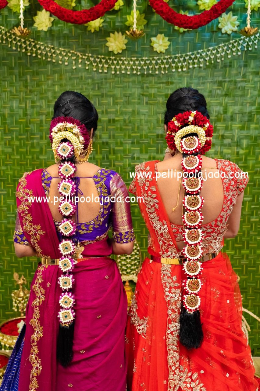 Varalakshmi Vratam Special Photoshoot By Tejureddystudio For Bridesesse South Indian Bride Hairstyle South Indian Wedding Hairstyles Indian Bridal Hairstyles