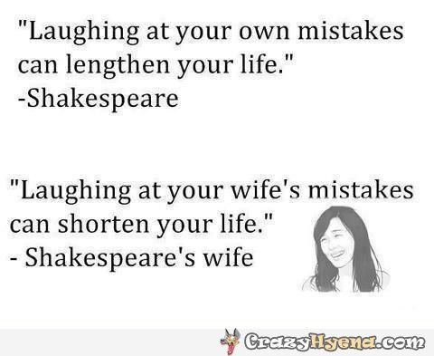 funny shakespeare quotes