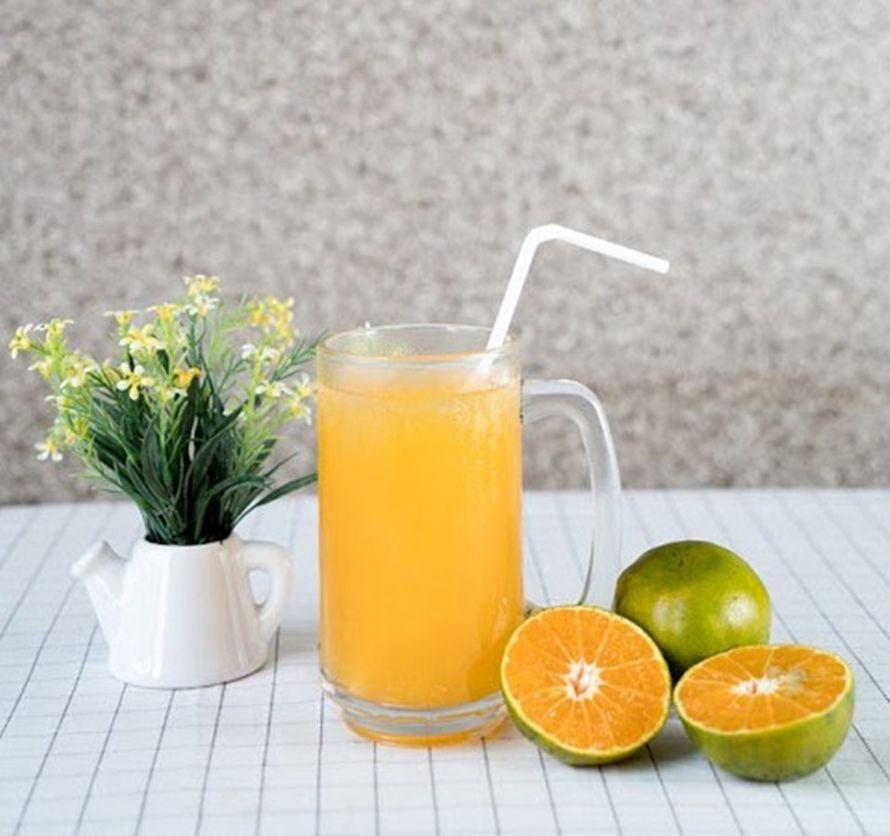 Es Jeruk Peras Salah Satu Minuman Rantau Yang Lagi Viral Minuman Jeruk Jus Jeruk