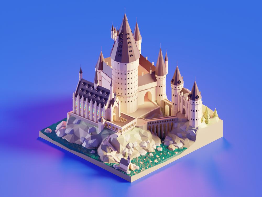 Hogwarts Castle Daylight Hogwarts Castle Hogwarts Castle Drawing Hogwarts