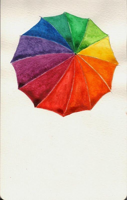 Worth Drawing Color Wheel Umbrella Color Wheels Pinte