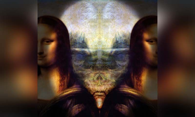 Aliens In The Mona Lisa? - In the last sixteen years of ... Da Vinci Paintings Mirrored